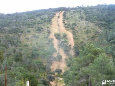 Senda del Yelmo - Cuerda de la Parada; equipamiento para montaña viaje navidades viajes para marzo e